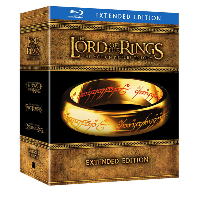 The Lord of the Rings: The Motion Picture Trilogy (Extended Edition) (BD)