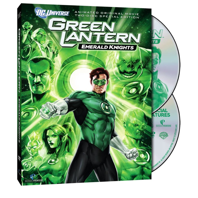 Green Lantern: Emerald Knights (Two-Disc Special Edition) (DVD)