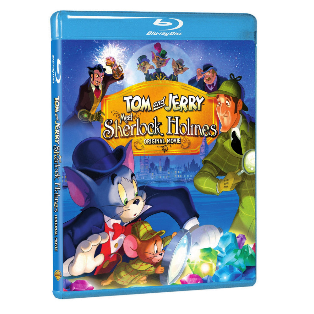 Tom and Jerry Meet Sherlock Holmes (BD)