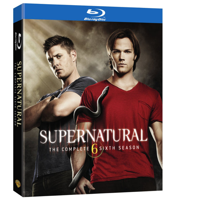 Supernatural: The Complete Sixth Season (BD)