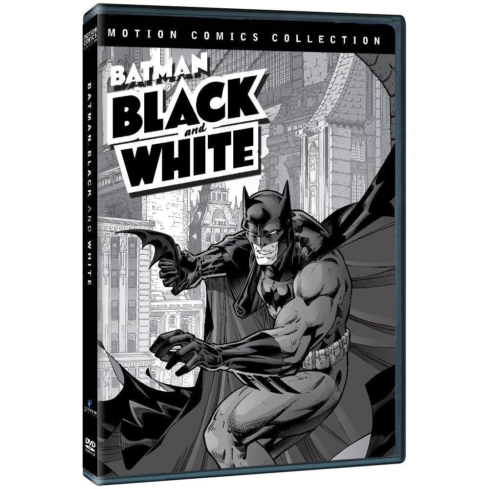 Batman Black & White: Motion Comics Collections 1 & 2 (MOD)