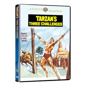 Tarzan's Three Challenges (MOD)