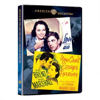 WAC Double Features: You Can't Escape Forever (1937) / Love Is On the Air (1942) (MOD)