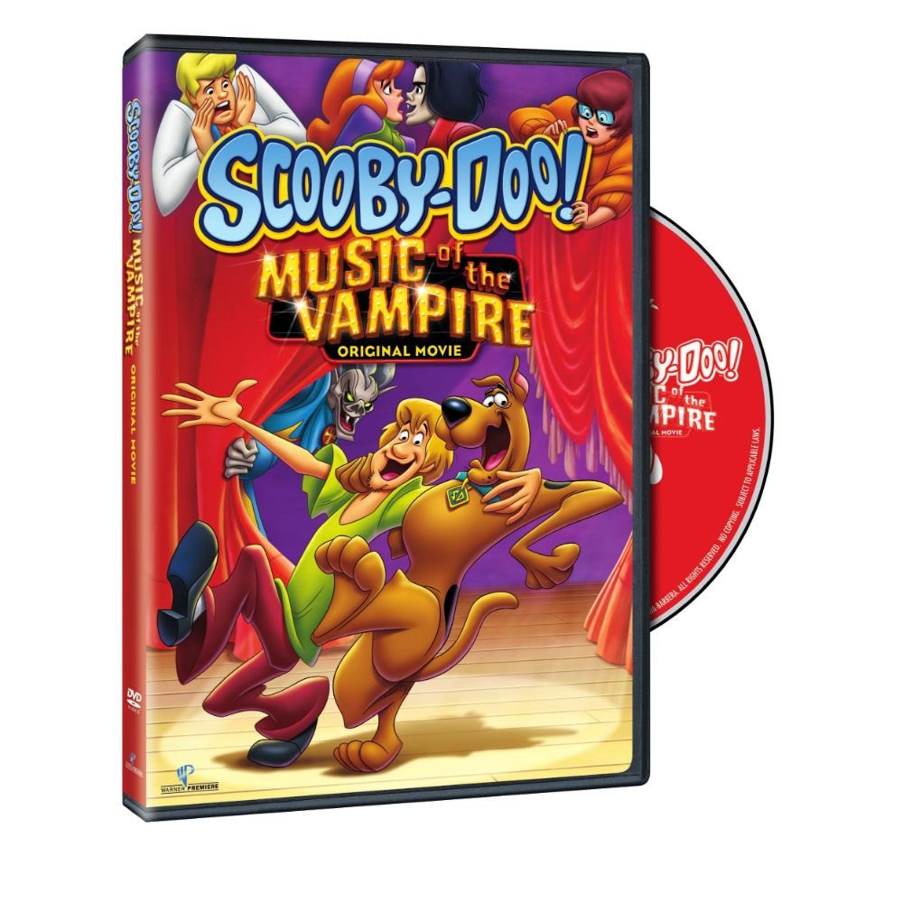 Scooby-Doo! Music of the Vampire (DVD)