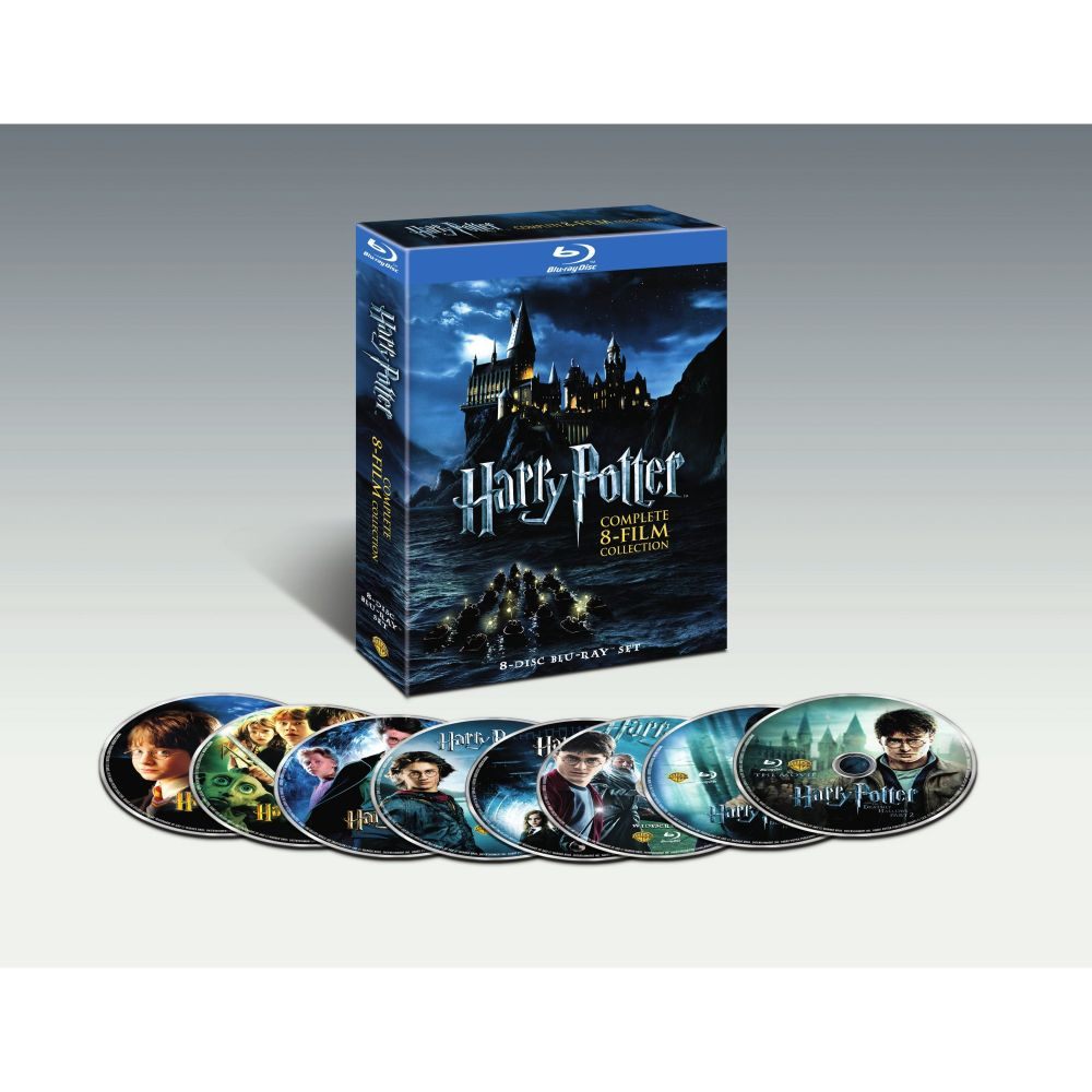Harry Potter: Complete 8-Film Collection (BD)