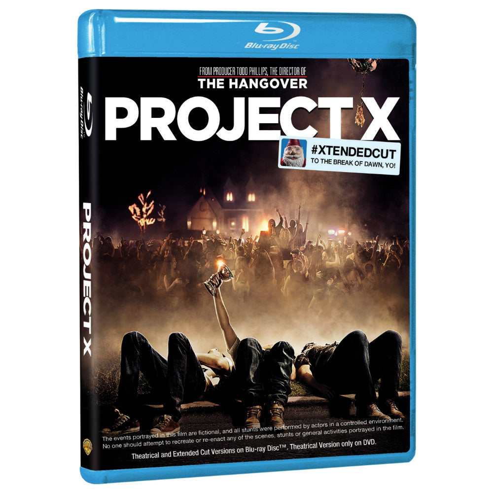 Project X (#XTENDEDCUT To the Break of Dawn, Yo!) (BD)