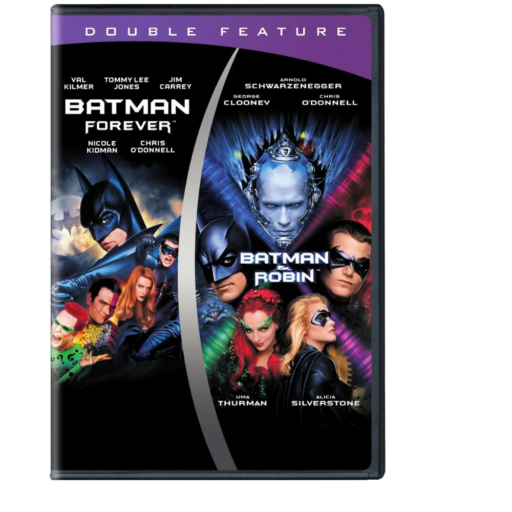 Batman Forever/Batman & Robin (Double Feature) (DVD)