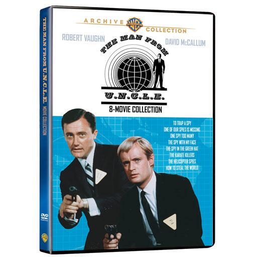Man From U.N.C.L.E., The: 8 Movies Collection