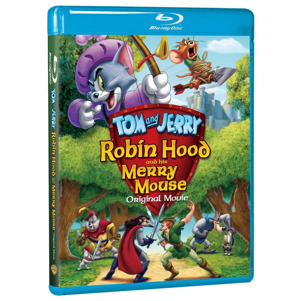 Tom and Jerry: Robin Hood and His Merry Mouse (BD)