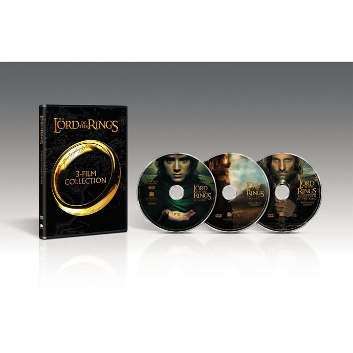 The Lord of the Rings 3-Film Collection (DVD)