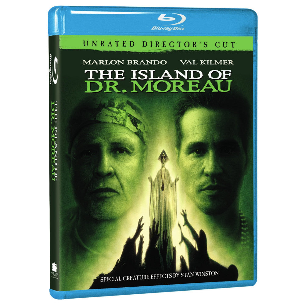 The Island of Dr. Moreau (Unrated Director's Cut) (BD)
