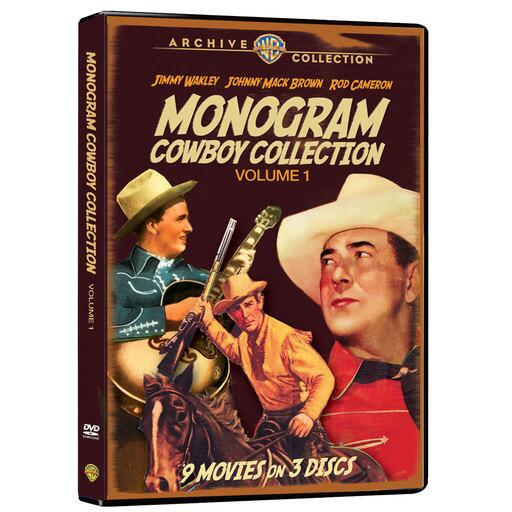 Monogram Cowboy Collection Volume 1