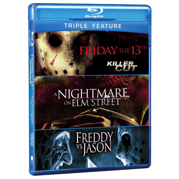 Friday the 13th (Killer Cut) (2009) / A Nightmare on Elm Street (2010) / Freddy vs. Jason (Triple Feature) (BD)