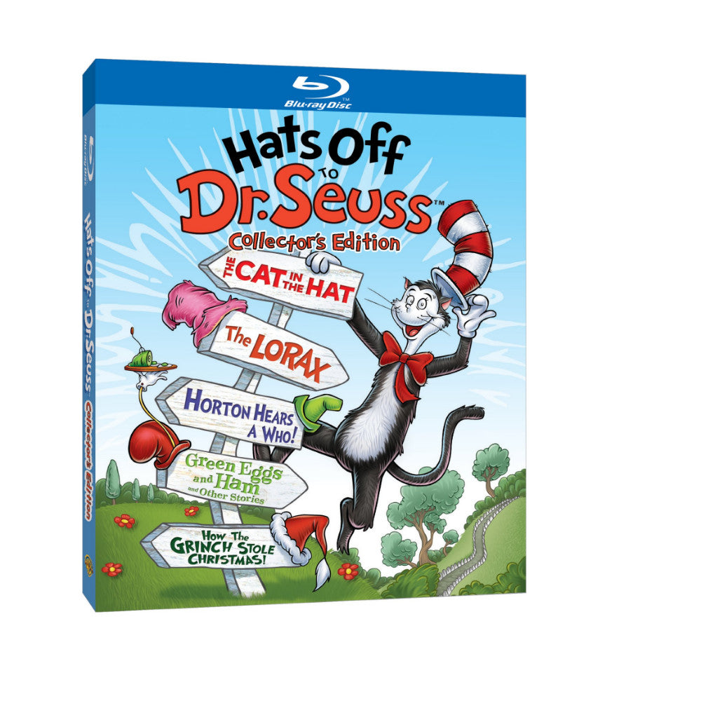 Hats Off to Dr. Seuss (Collector''s Edition) (BD)