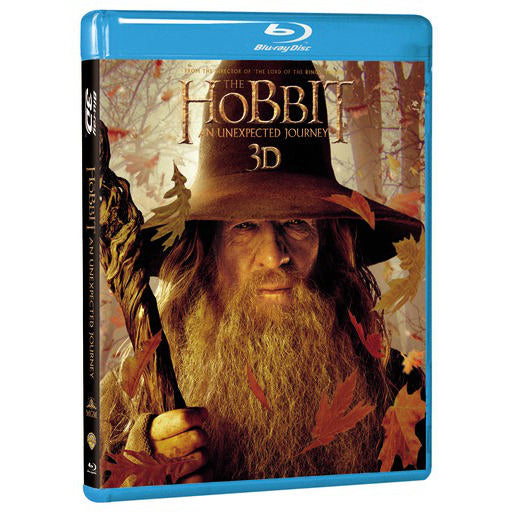 The Hobbit: An Unexpected Journey 3D (Blu-ray 3D)