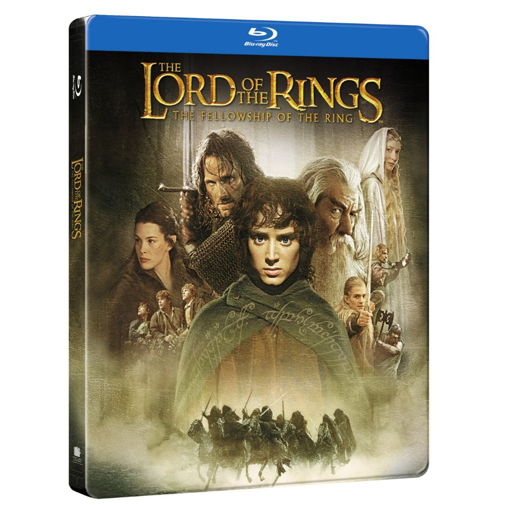 The Lord of the Rings: The Fellowship of the Ring (Steelbook) (BD)
