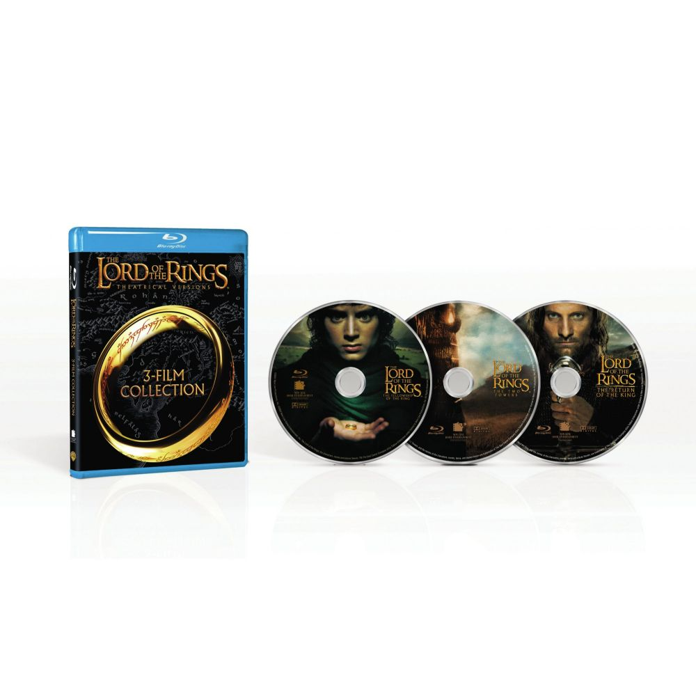 The Lord of the Rings: Original Theatrical Trilogy (3-Film Collection) (BD)