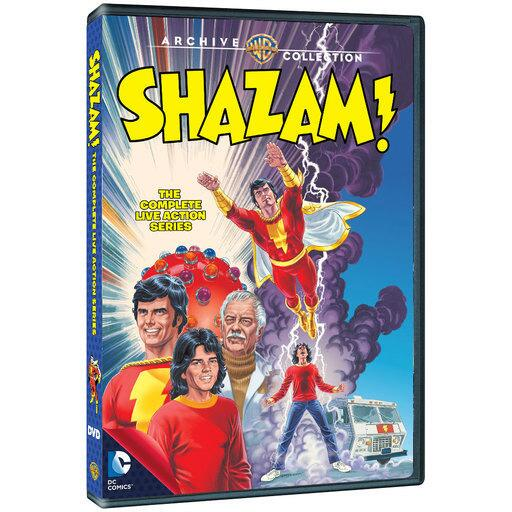 Shazam! The Complete Live-Action Series (Exclusive Cover Art) (MOD)