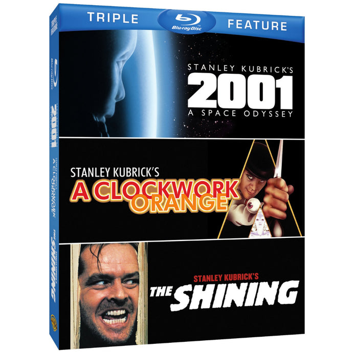 Stanley Kubrick Triple Feature: 2001: A Space Odyssey / A Clockwork Orange / The Shining (BD)
