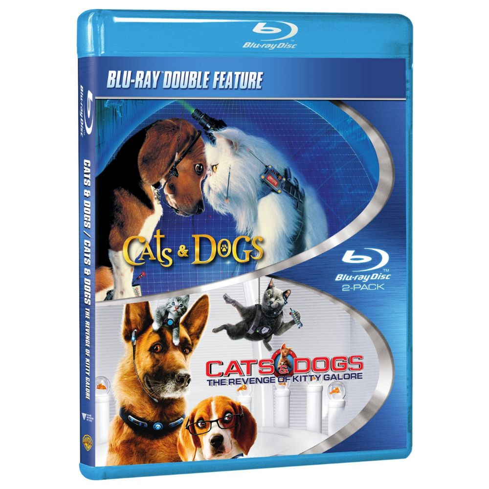 Cats & Dogs / Cats & Dogs: The Revenge of Kitty Galore (Double Feature) (BD)