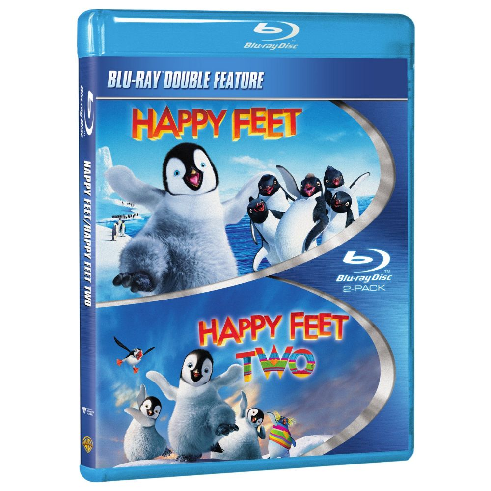 Happy Feet / Happy Feet 2 (Double Feature) (BD)