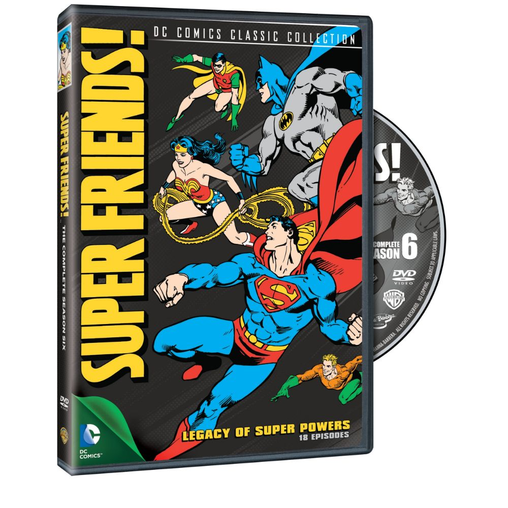 Super Friends, Season 6: Legacy of Super Powers (DVD)