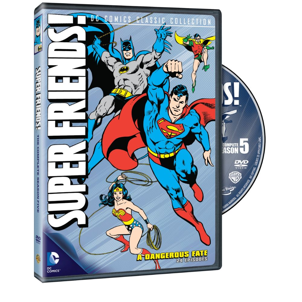 Super Friends: A Dangerous Fate - Season 5 (DVD)