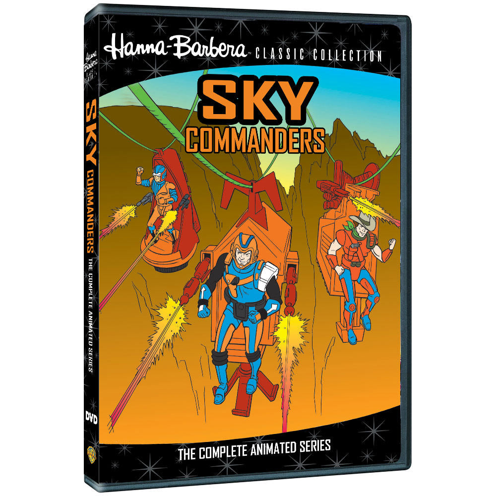 Sky Commanders: The Complete Animated Series (1986) (MOD)