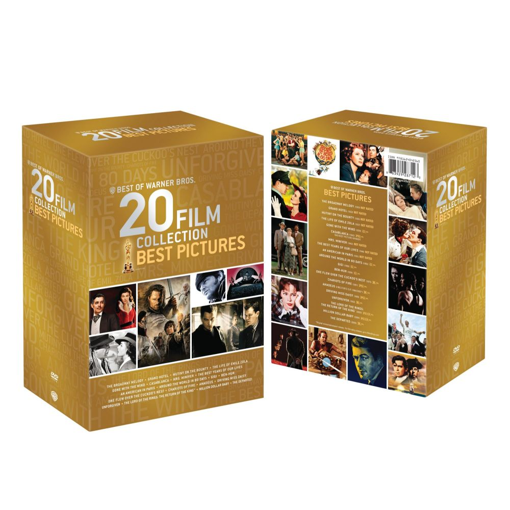 Best of Warner Bros 20 Film Collection: Best Pictures (DVD)