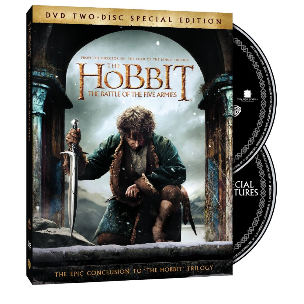 The Hobbit: The Battle of the Five Armies (Two-Disc Special Edition) (DVD)