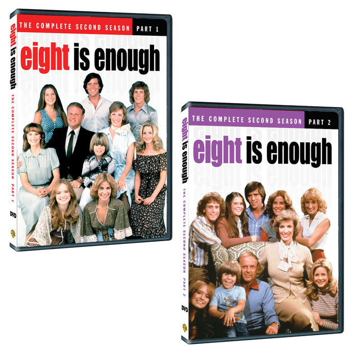 Eight is Enough Season Two: The Complete Pack (Part 1 & 2)