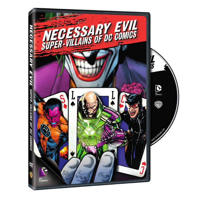 Necessary Evil: Super-Villains of DC Comics (DVD)
