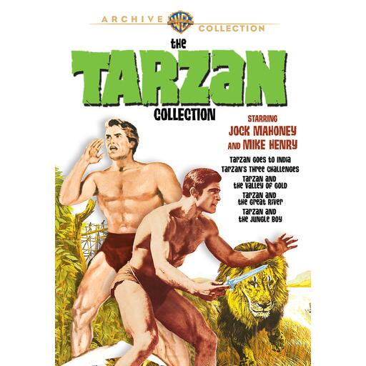 The Tarzan Collection Starring Jock Mahoney & Mike Henry (MOD)
