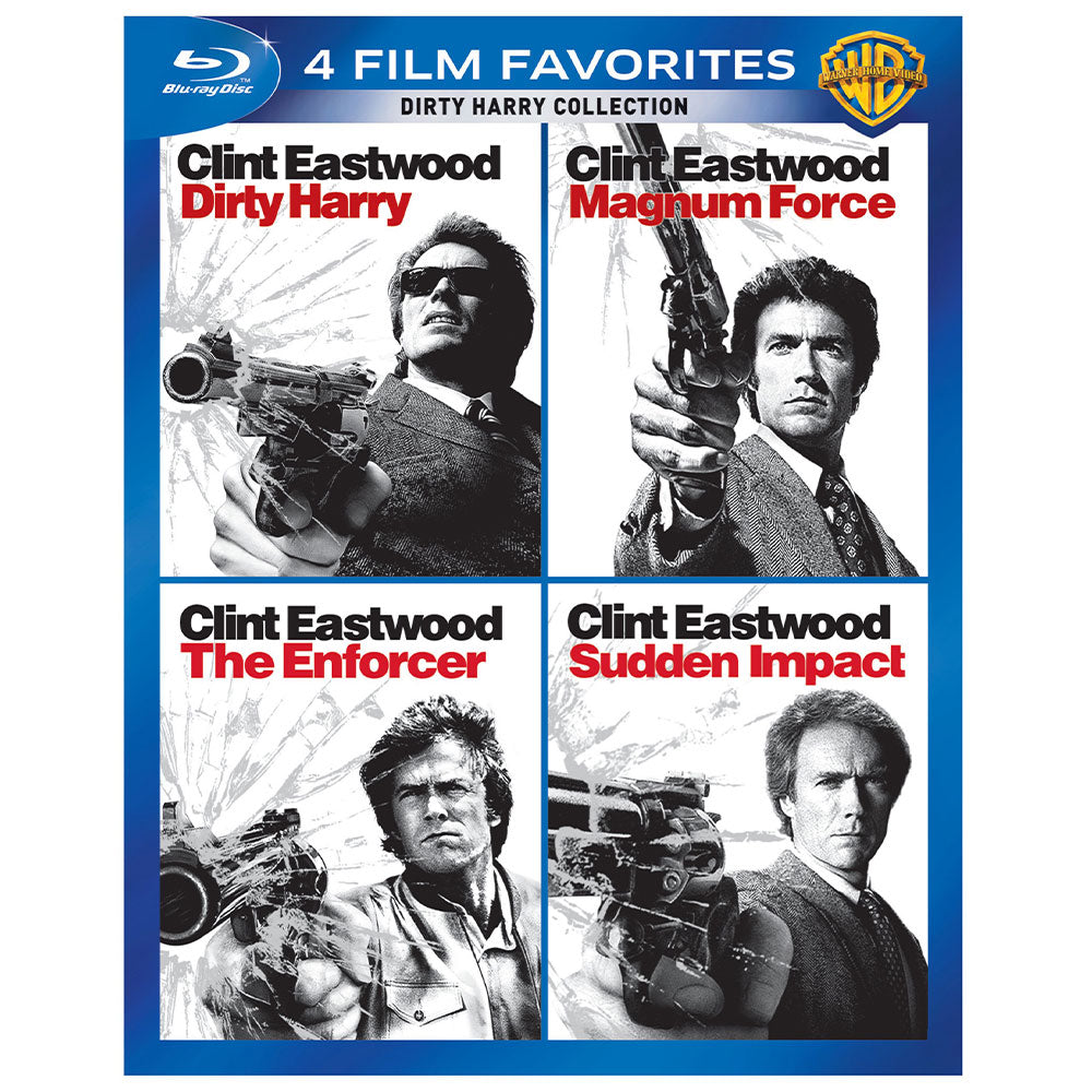 4 Film Favorites: Dirty Harry Collection (BD)