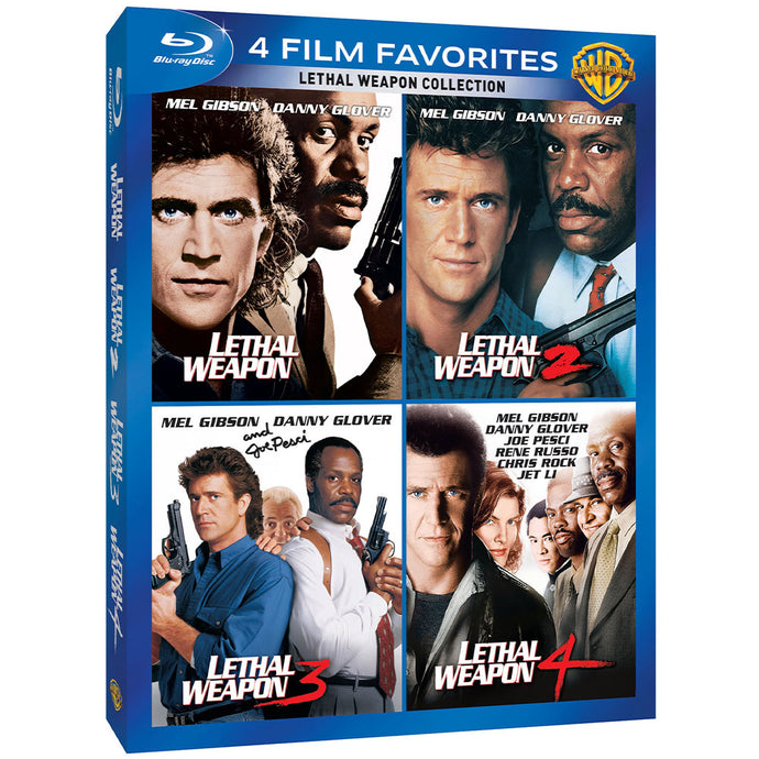4 Film Favorites: Lethal Weapon Collection (BD)