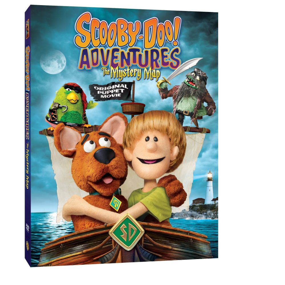 Scooby-Doo! Adventures: The Mystery Map! (DVD)