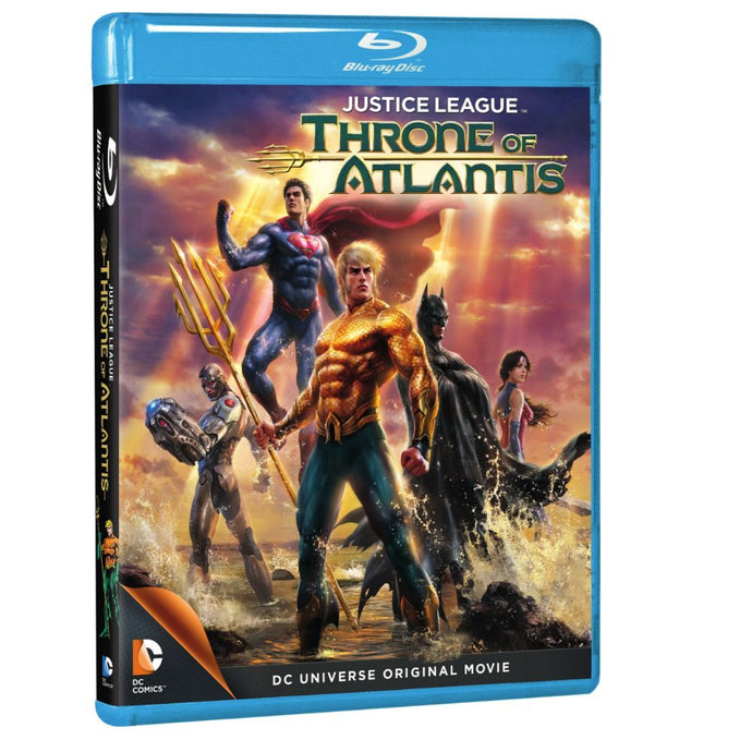 Justice League: Throne of Atlantis (BD)