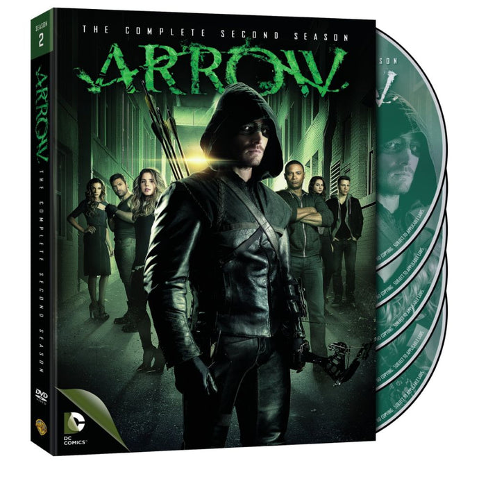Arrow: The Complete Second Season (DVD)
