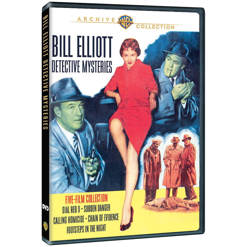 Bill Elliott Detective Mysteries Five-Film Collection