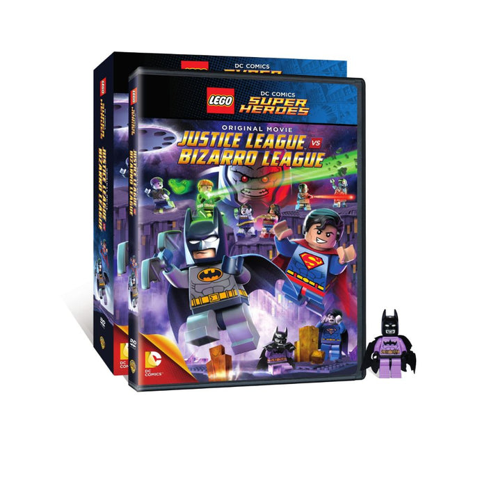 LEGO: DC Comics Super Heroes: Justice League vs. Bizarro League (DVD)