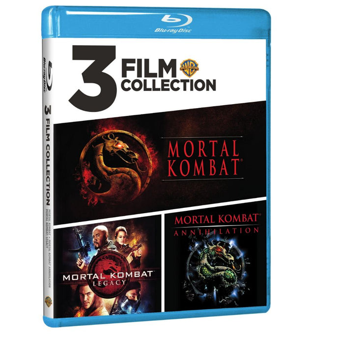 Mortal Kombat / Mortal Kombat: Annihilation / Mortal Kombat: Legacy (3 Film Collection) (BD)