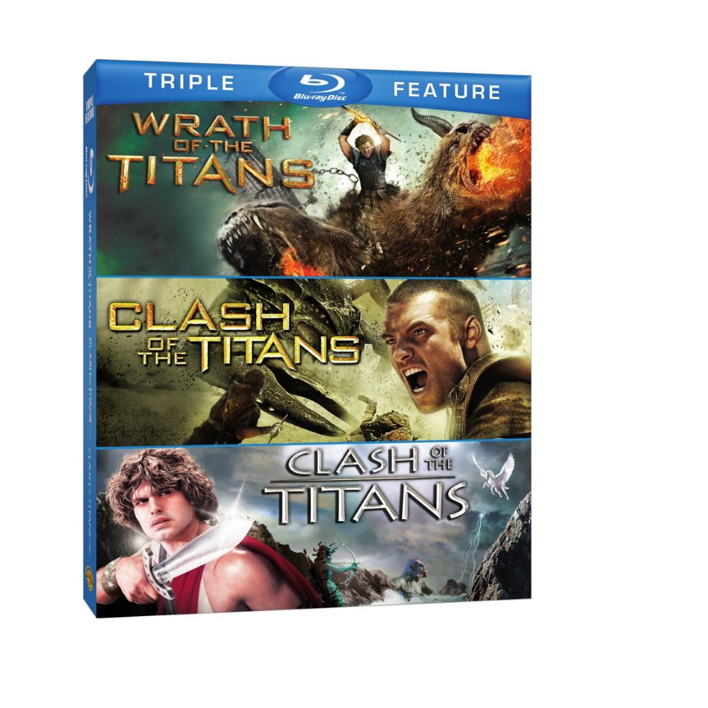 Wrath of the Titans / Clash of the Titans (2010) / Clash of the Titans (1981) (Triple Feature) (BD)