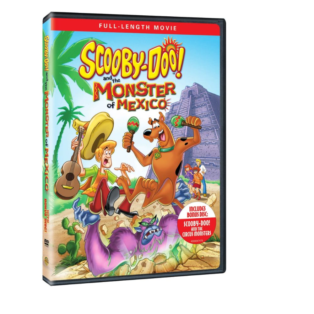 Scooby-Doo and the Monster of Mexico with Bonus Disc (DVD)