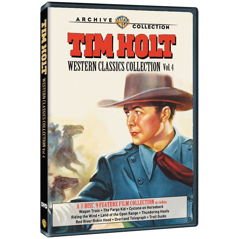 Tim Holt Western Classics Collection: Volume Four (MOD)