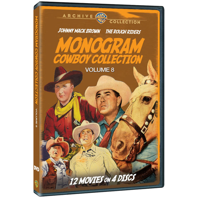 Monogram Cowboy Collection, The: Volume Eight (MOD)