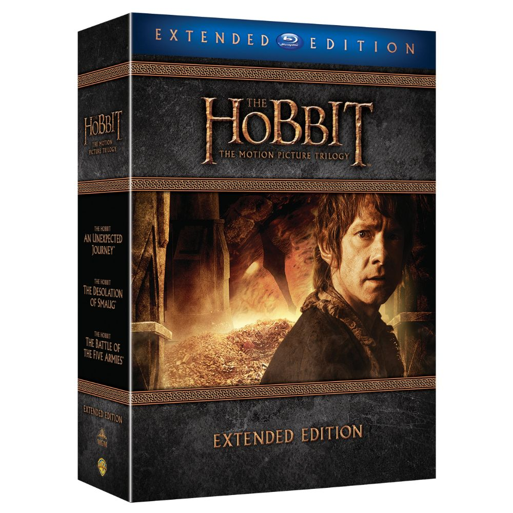The Hobbit: The Motion Picture Trilogy (Extended Edition) (BD)