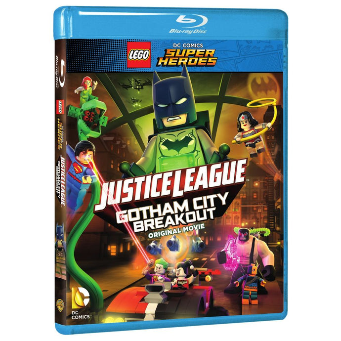 LEGO DC Comics Super Heroes: Justice League: Gotham City Breakout (BD)