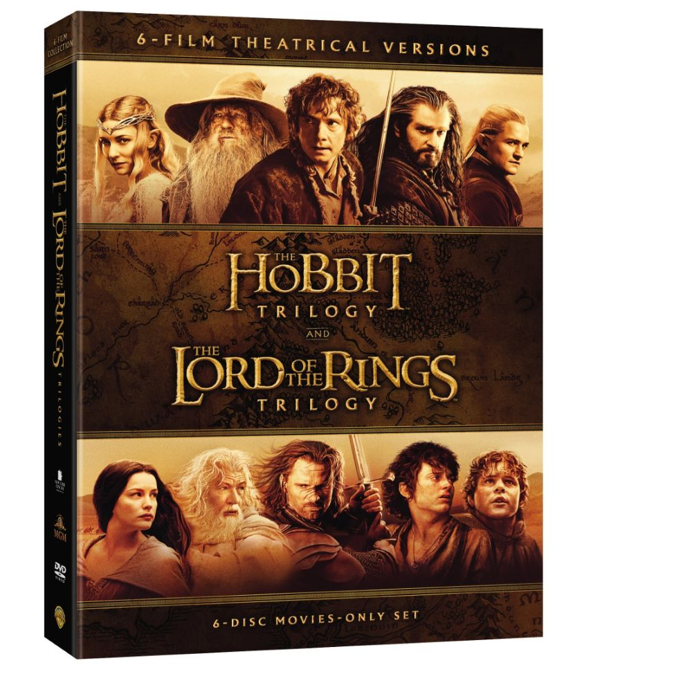 Middle-earth Theatrical Collection (DVD)