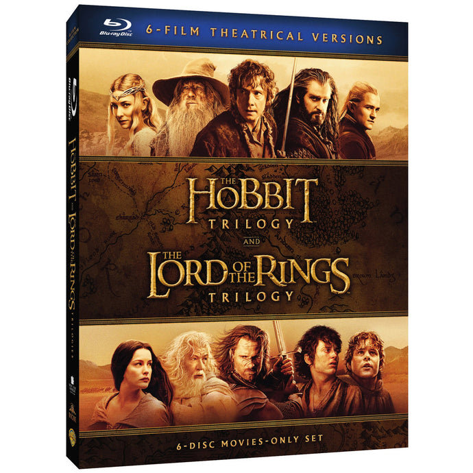 Middle-earth Theatrical Collection (BD)
