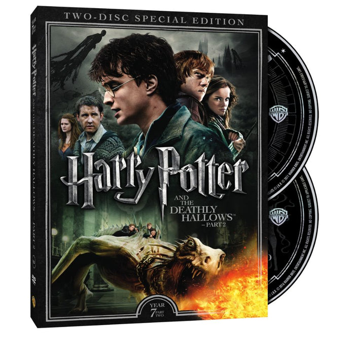 Harry Potter and the Deathly Hallows, Part II (Two-Disc Special Edition) (DVD)